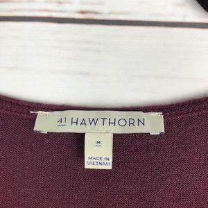41 Hawthorn Tops - Stitch Fix 41 Hawthorn Cena Twist Hem Knit Top